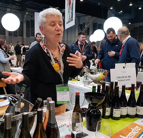 Reportages de nos étudiants au Salon des vins de Loire les 3 et 4 février!