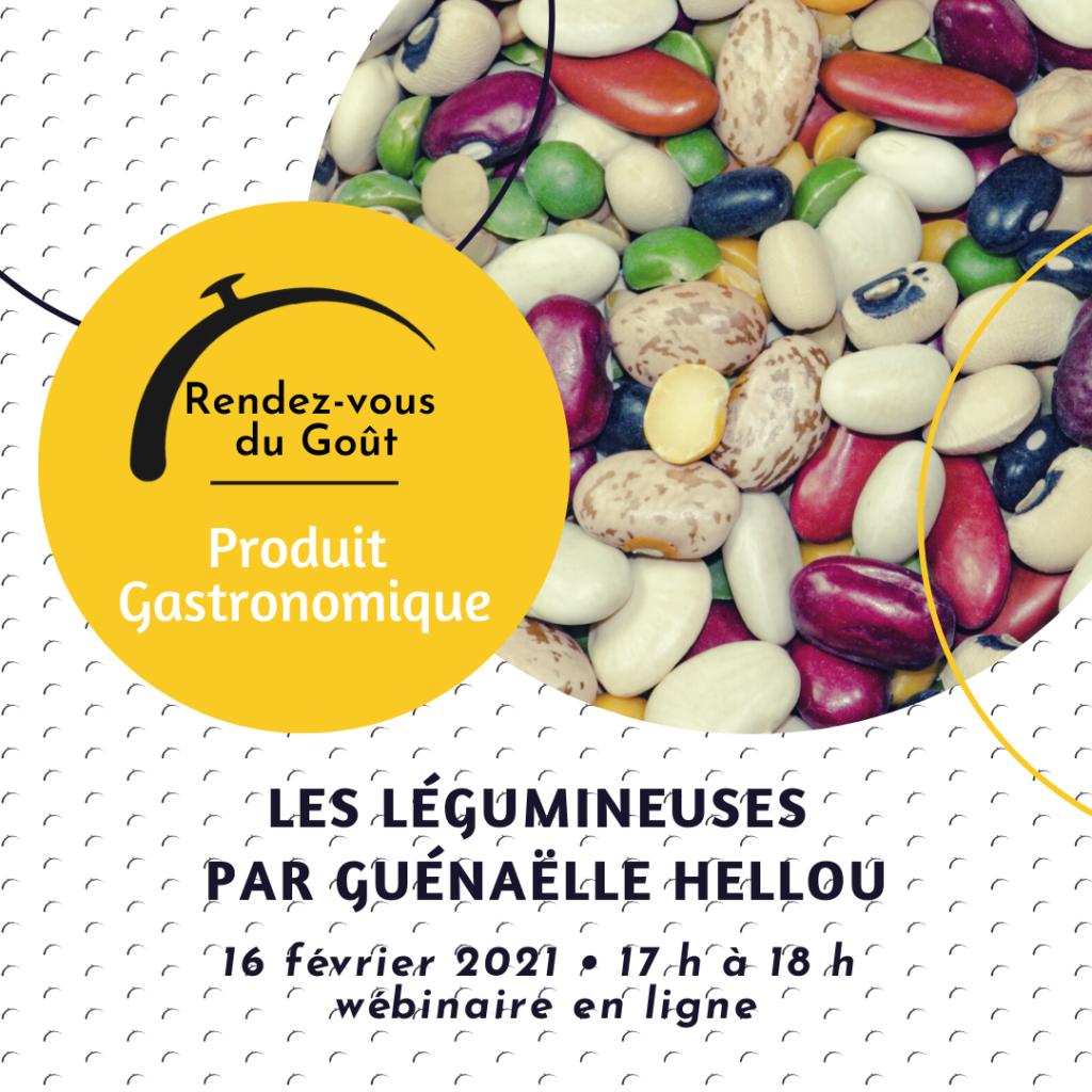 1er Rendez-vous du Goût – Produit Gastronomique : les Légumineuses