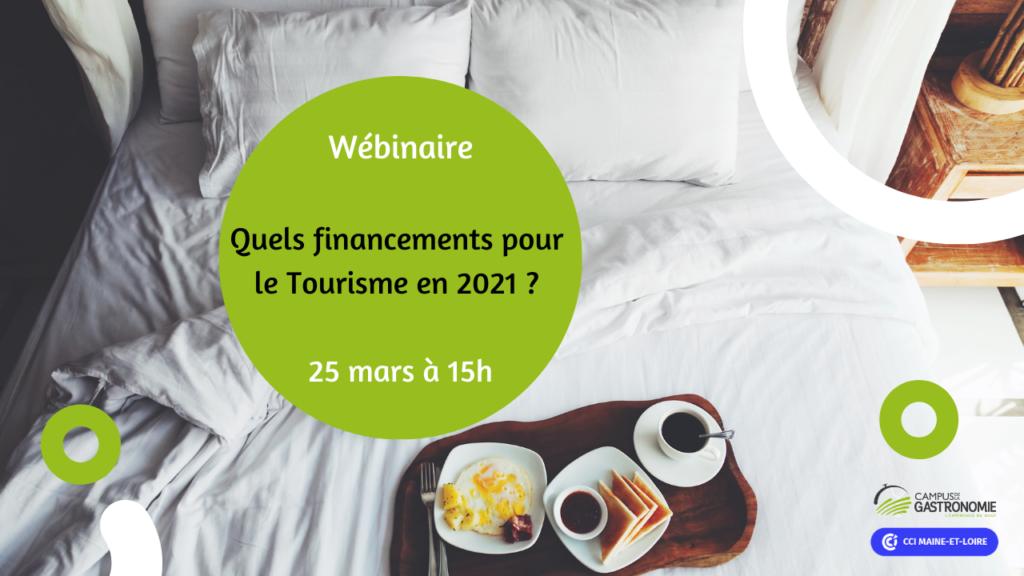 Wébinaire quels financements pour le tourisme en 2021